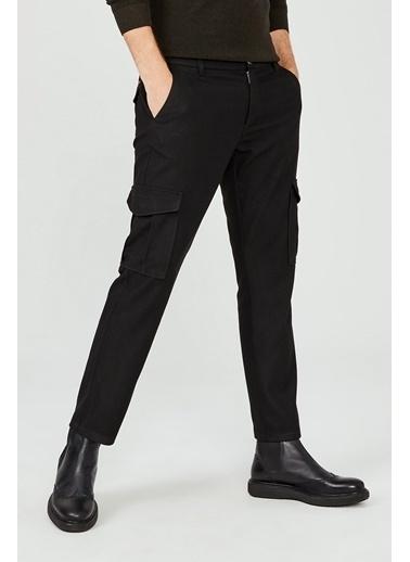 Avva Erkek Kargo Cepli Slim Fit Pantolon A02Y3051 Siyah
